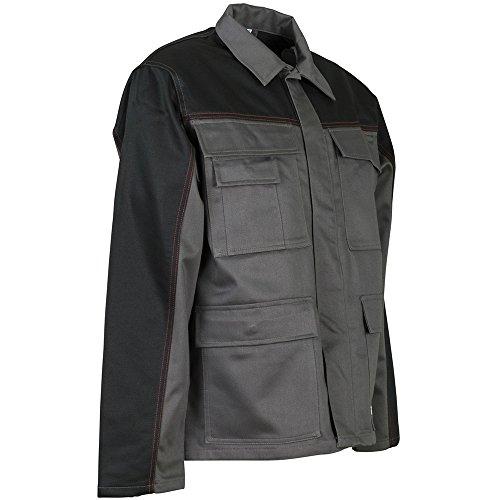 Planam Weld Shield Bundhose Hitzeschutz grau/schwarz