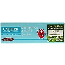 CATTIER Dentifrice Goût Pastèque 2-6 Ans 50 ml