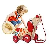 Holidaysummer Holztier Welpen-Anhänger Spielzeug Tiere Lernspielzeug für Kinder