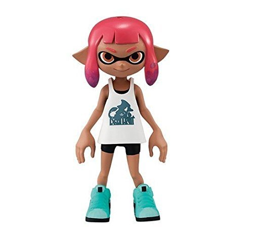 Nintendo Bandai Splatoon 2 Dress-up Doll Figure~#1 Girl~Size 6.5cm~