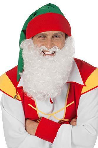 wergenbart Erwachsene weiß Bart Zwerg-e Karneval ()
