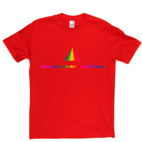 Dark Side Of The Moon Legendary Track Song Title T-shirt Rot