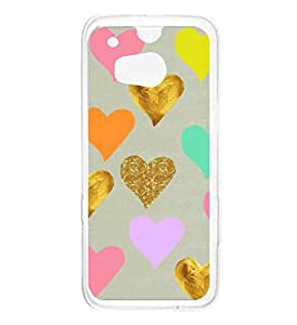 a AND b Designer Printed Mobile Back Cover / Back Case For HTC One M8 (HTC_M8_3051)