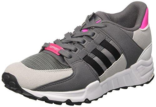 adidas Unisex-Kinder EQT Support J Gymnastikschuhe, Grau (Grey Four F17/core Black/FTWR White), 36 EU (Running Equipment Adidas Support)