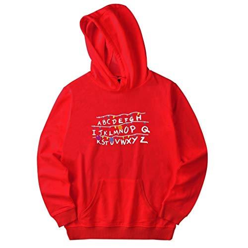 Luckycat Herren Sweatshirt Top Herbst Langarm Kapuzenpullover Hoodie Pullover Mit Kapuze Unisex Hip Hop Urban Basic Gesteppte Bomberjacke Baseballjacken