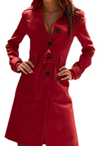 Damen Trench Coat Bunt