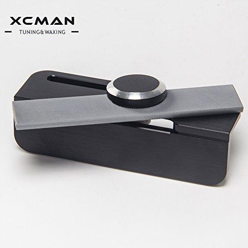 Xcman Guide lime pour affûtage de snowboard, en aluminium rigide, usinage de précision CNC avec dispositif de serrage, 2 Degrees