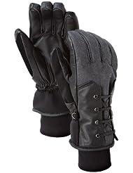 Burton Corset Glove–Guantes para mujer, otoño/invierno 11, mujer unisex, color true black, tamaño small