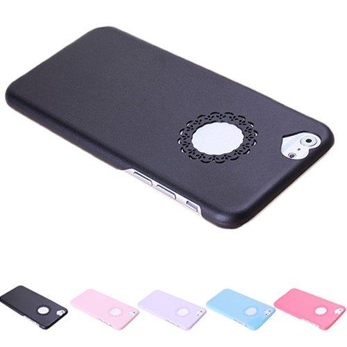 F8Q Ultra Slim Mignon coeur creux Fille en plastique Housse de protection pour iPhone 6 Se leva