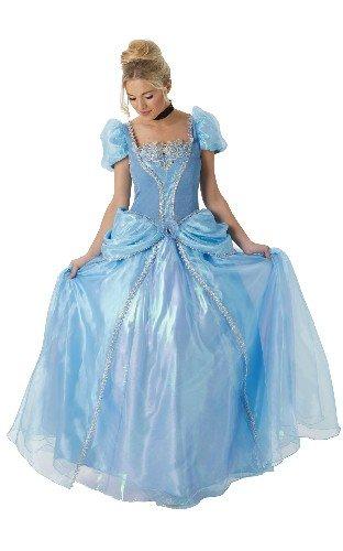 (Rubie 's Offizielles Damen Disney Cinderella Grand Heritage Deluxe Kostüm–Medium)