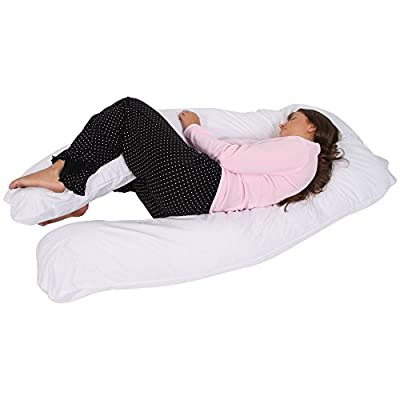 sleepdove BIG U PILLOW MATERNITY SUPPORT PILLOW U SHAPE ULTIMATE SUPPORT U PILLOW CUDDLE PILLOW FULL LENGTH BODY PILLOW