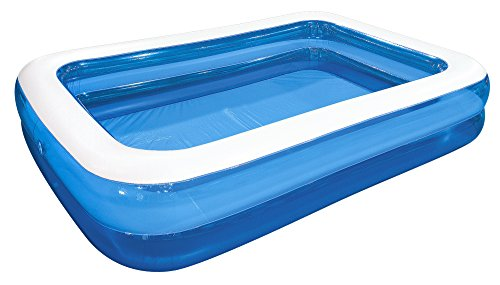 Jilong Giant Swimming Pool 262x175x50 cm Familienpool Schwimmbecken Planschbecken Kinderpool