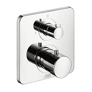 AXOR Citterio M Unterputz Thermostat mit Ab- und Umstellventil, 2 Verbraucher, chrom