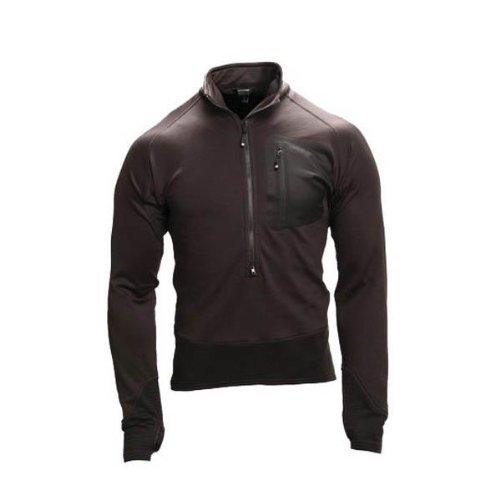 Blackhawk Herren 3/4ZIP Soft Fleece Pullover schwarz