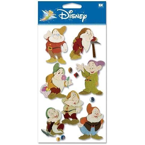Disney Movie dimensionale Sticker-Snow White/le sette nani
