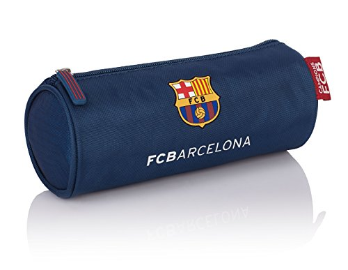 FCB FC Barcelona The Best Team 5 Estuches, 22 cm, 1.5 Liters, Azul (Navy Blue)
