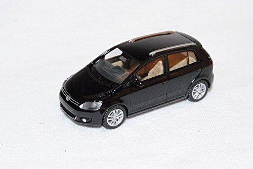 VW-Volkswagen-Golf-Plus-Schwarz-Ab-2009-H0-187-Wiking-Modell-Auto-mit-oder-ohne-individiuellem-Wunschkennzeichen