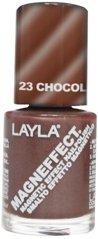 Layla Cosmetics Magneffect Nagellack, chocolate mousse, 1er pack (1 x 0.01 L)