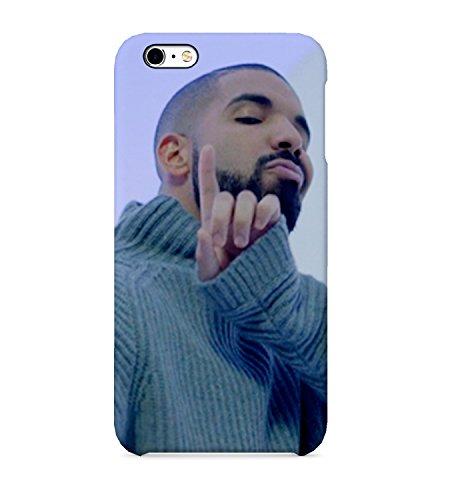 Drake Hotline Bling Iphone 6 7 7 plus 8 plus X Phone Case Hard Plastic Schutzhülle aus Hartplastik Handy Hülle 3D Full-Print Protective Phone Case -