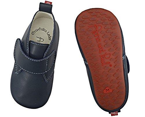Anna und Paul , Chaussures premiers pas pour bébé (fille) S - 18-19 - ca. 12 cm - 6-11 Monate