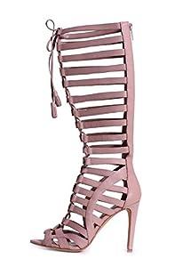 Vince Camuto Olivian Women's Knee High Gladiator Sandals