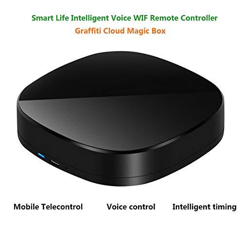 HLKYB WiFi Smart Home Hub, Universalfernbedienung, Automation Learning Universalfernbedienung Kompatibel für Smartphones