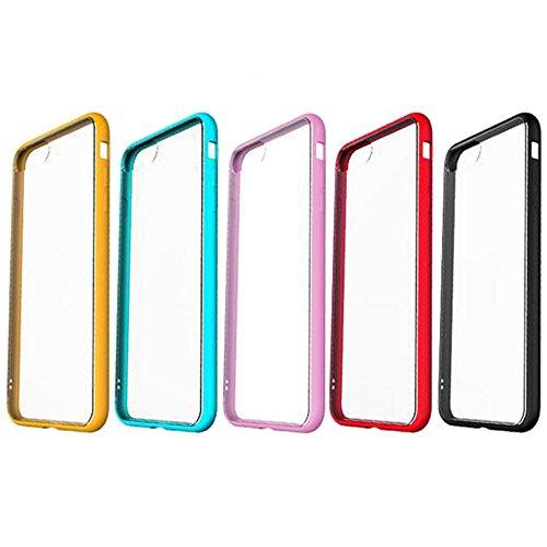 [2 Packs] iPhone 6s Matt Hülle + Gehärtetes Displayschutzfolie,SUNAVY Neu 3-in-1 Ultra-Dünn 360-Grad Hart PC + Weich Premium-TPU Handyhülle Schutzhülle für Apple6,4.7zoll,Rot Rosa