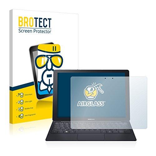 BROTECT Panzerglas Schutzfolie kompatibel mit Samsung Galaxy Tab Pro S 12.0 - Flexibles Airglass, 9H Härte