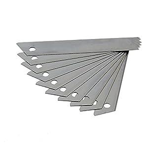 100 Stk. Abbrechklingen für 18mm Cuttermesser Cutter Klingen 0,4mm