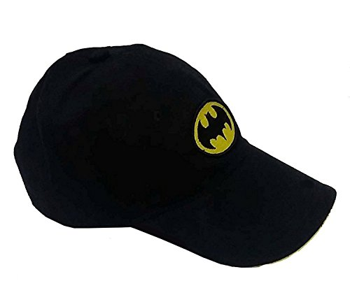 Glamio Black Batman Supper Premium Solid Snapback Cap for Girls  available at amazon for Rs.185