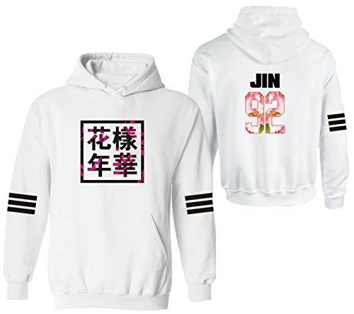 SERAPHY Unisex Kpop BTS Hoodies Bangtan Boys Sweatshirt For Women and Men Suga Jin JIMIN Jung Kook J-Hope Rap-Monster V