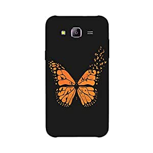 Back cover for Samsung Galaxy E5 Free Bird Butterfly