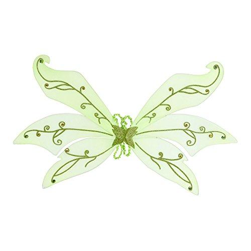 Flügel Grüne Fee (Gold Fee Flügel Kostüm)