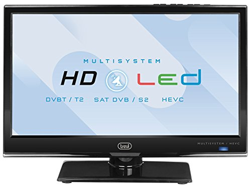 TV 16' LED con DVBT-T2 HEVC TREVI LTV 1601 SAT pollici