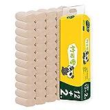 Asciugamani in carta 14 rotoli Carta igienica di colore naturale FCL Famiglia 4 strati di carta igienica WC a prezzi accessibili Web senza anima