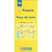 Carte routière : Pays de Loire, N° 232