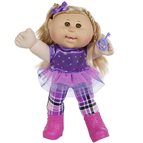 "Cabbage Patch Kids 14"" Kids Blonde Hair/Brown Eye Girl (Rocker)"