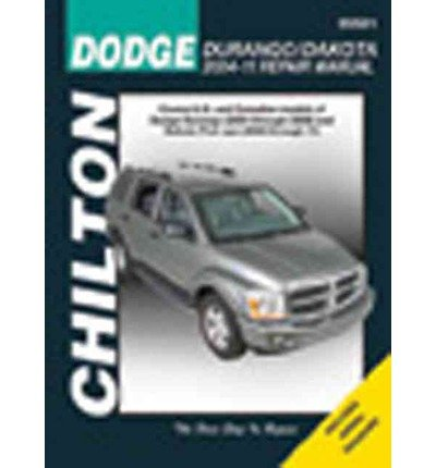 Dodge Durango Haynes ([ DODGE DURANGO/DAKOTA 2004-11 REPAIR MANUAL (CHILTON'S TOTAL CAR CARE REPAIR MANUALS) ] Dodge Durango/Dakota 2004-11 Repair Manual (Chilton's Total Car Care Repair Manuals) By Wegmann, John ( Author ) Jun-2012 [ Paperback ])