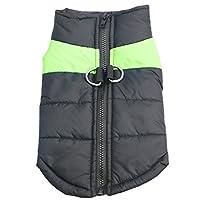 Idepet(TM Pet Dog Winter Coat Waterproof Clothes for Small Medium large Pet Dog Cat Size S M L XL XXL 3XL 4XL 5XL