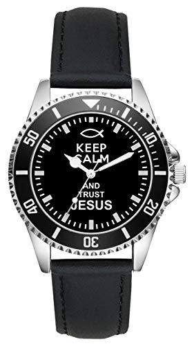 Religion Kirche Jesus Geschenk Artikel Idee Fan Uhr L-1466