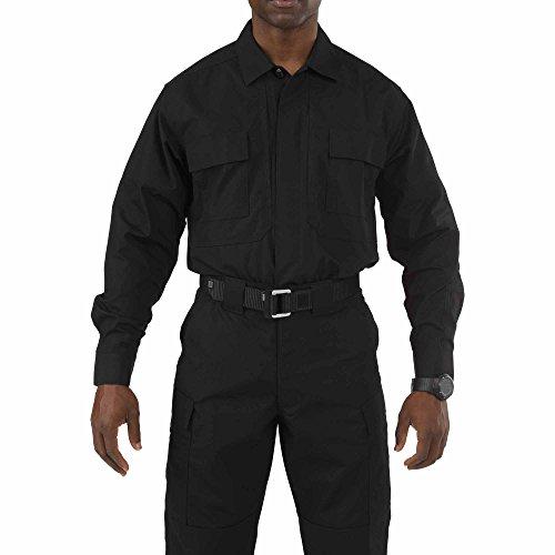5.11Tactical # 72054Taclite TDU Long Sleeve Shirt XXL schwarz