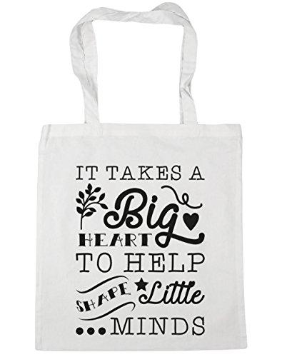 hippowarehouse-sac-de-plage-femme-blanc-taille-unique
