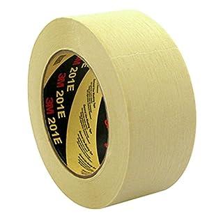 3M 201E Kreppklebeband, 24 mm x 50 m, Universalband und Maler Profi, Beige (9-er Pack)