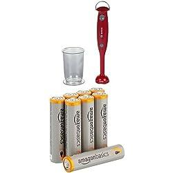Klein - 9566 - Jeu d'imitation - Mixer plongeant Bosch avec verre gradué + piles AAA AmazonBasics