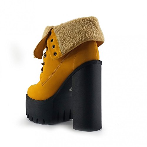 Kick Footwear Platform, Stivali donna Honey