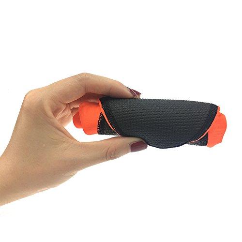 Unisex Wassersportschuhe Strandschuhe Surfschuhe für Damen Herren Rutschfeste Sohlen Couple Shoes Wasserschuhe Strandschuhe Badeschuhe Surfschuhe Orange