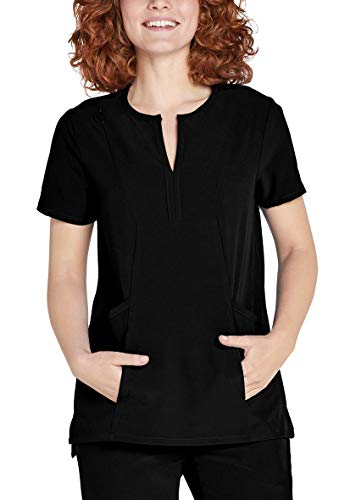 Adar Addition Scrubs for Women - Bib Front Smock Scrub Top - Bib Womens Top
