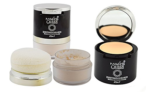 Mars Queen Collection Distinguished Essence of Natural Minerals 2in1 Free Liner & Rubber Band