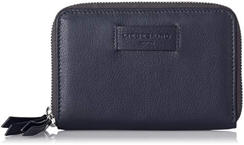 Blaue Damen Geldbörse (Liebeskind Berlin Damen Essential Sophia Wallet Large Geldbörse, Blau (Navy Blue), 4x11x17 cm)