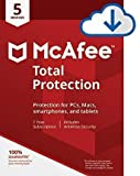 2019 Mcafee Total Protection 5 DEVICES, Delivery on same day via Amazon Message - Download software link and Activation key -